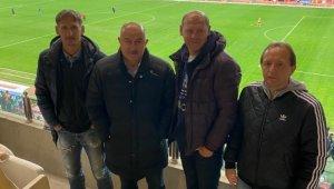 Rusya Milli Takım Teknik Direktörü Stanislav Çerçesov, Antalyaspor - Kasımpaşa maçını izledi