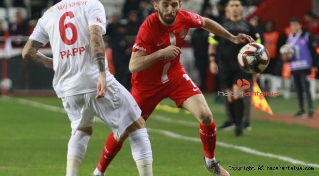 Ziraat Türkiye Kupası: Antalyaspor: 0 - Sivasspor: 0