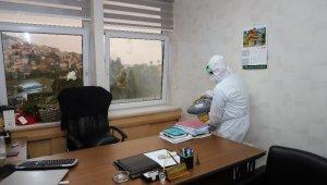 Alanya'da dezenfektasyon işlemleri devam ediyor
