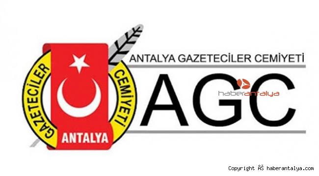 ANTALYA GAZETECİLER CEMİYETi'NDEN ÇAĞRI