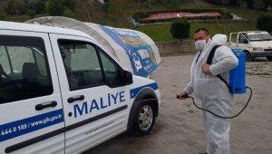 Antalya'da 'Araç dezenfekte noktası' !