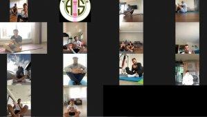 Antalyaspor'da 'Yoga Günü'