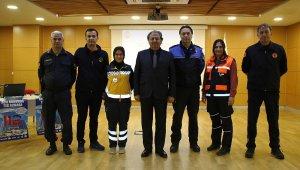 Büyükşehir personeline 112 farkındalık eğitimi