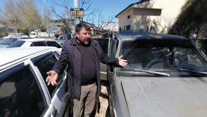 Türkiye'nin yüzünü güldüren Bekir Varol'un aracına hırsız girdi