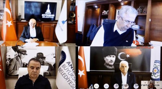 Antalya Büyükşehir Belediye BaşkanıMuhittin Böcek dahil 11 büyükşehir belediye başkanından Cumhurbaşkanı Erdoğan ile toplantı talebi