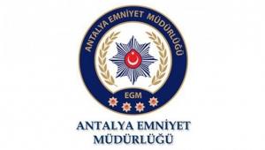 Antalya Emniyetinden Korona denetimi