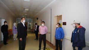 Başkan Ulutaş'tan Sağlık Çalışanlarına Moral Ziyareti