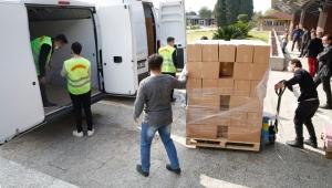 Büyükşehir'in yardımları devam ediyor
