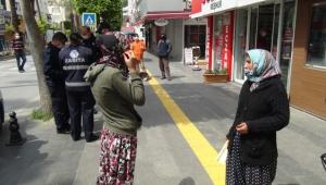 Dün kavga ettiler, bugün yine polise yakalandılar !