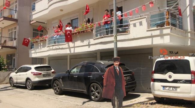 Manavgat'ta 23 Nisan coşkuyla kutlandı !