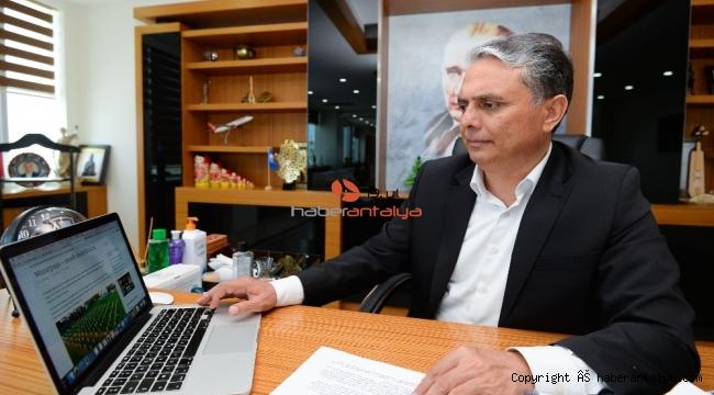 Muratpaşa, korona virüsle mücadelesini dünyayla paylaşıyor