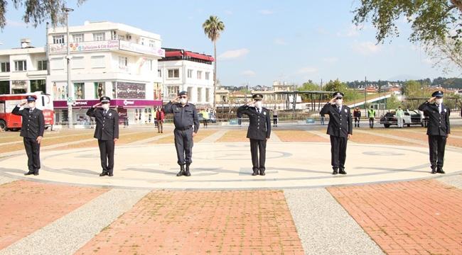 Polis Gününe sade kutlama