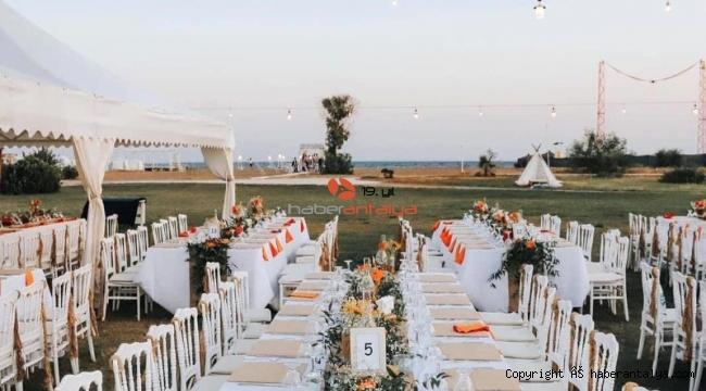 Rezervasyonların iptal olduğu düğün organizasyon firmaları Haziran ayını bekliyor