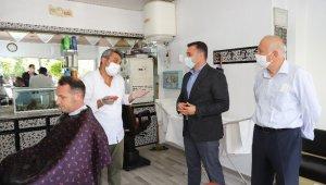 Alanya'da berber ve kuaförlere açılış destek paketi