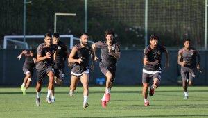 Alanyaspor, Başakşehir maçı hazırlıklarını sürdürdü