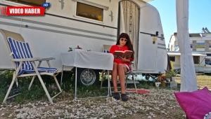 Antalya'da izolasyonlu tatilin adı; 'Karavan'
