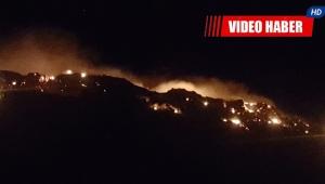 Finike'de orman yangını