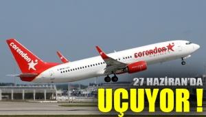 Corendon Airlines 27 Haziran'da uçmaya hazırlanıyor