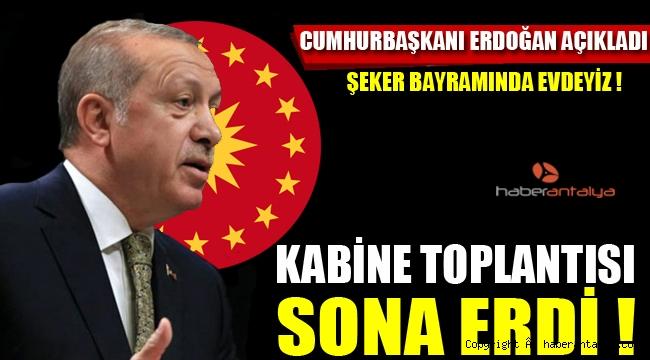 Cumhurbaşkanı Erdoğan, Kabine Toplantısı'nın ardından açıklama yaptı.