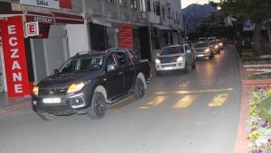 Kemer'de sivrisinekle mücadele ordusu