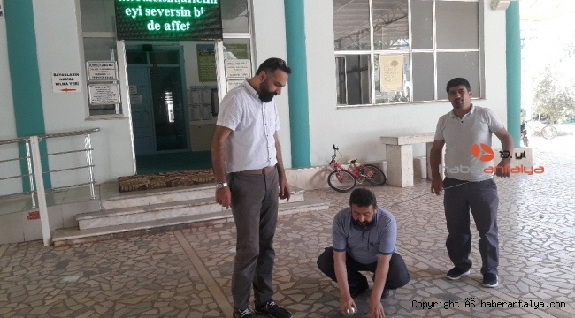 Kumluca'da Cuma namazı hazırlıkları