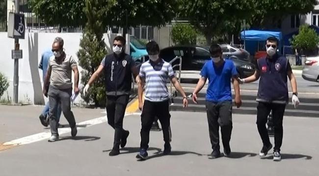 Manavgat'ta hırsızlık şüphelileri yakalandı