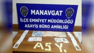 Manavgat'ta kumar baskınına 44 bin lira ceza