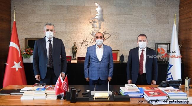 Semih Esen, Muhittin Böcek ve Mehmet Başaran'ı ağırladı