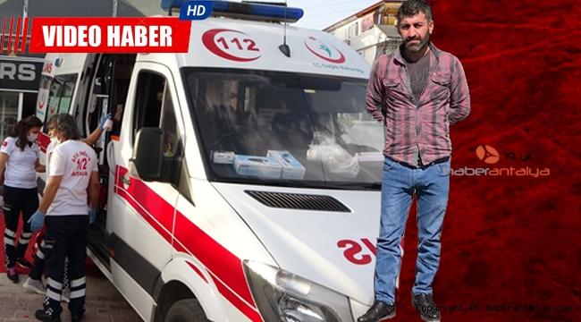 Kepez'de cinayetı: 1 ölü