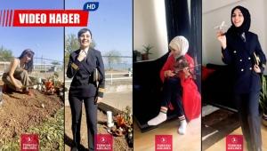 Türk Hava Yolları'nın kadın pilotları da Don't Rush Challenge akımına uydu