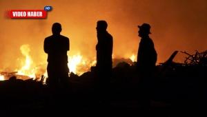 Antalya'da endişe verici yangın !