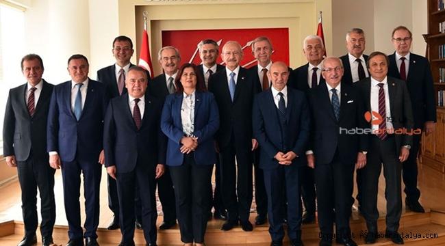 CHP'li başkanlardan ortak bildiri: Devletten 1 kuruş para almadık !