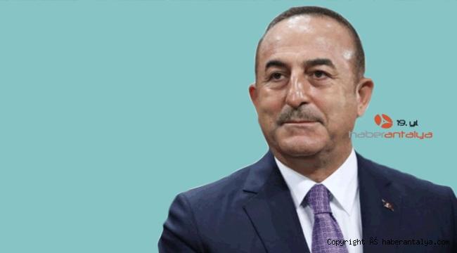 """Dışişleri Bakanı Çavuşoğlu: """"125 ülkenin yardım talebini karşıladık"""""""