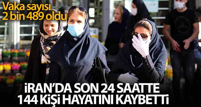 İran'da son 24 saatte 144 kişi korona virüsten öldü
