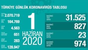 İşte son koronavirüs rakamları