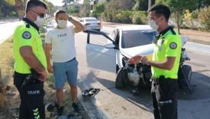 Kazadan sonra, 'sürücü benim' dedi, cezayı duyunca polise yalvardı