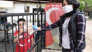 Konyaaltı'nda kitaplar çocuklara ulaştı
