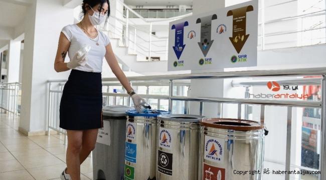 Muratpaşa, 'Sıfır Atık Belgesi'ni alan Antalya'daki ilk belediye oldu