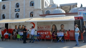 2 günde 235 ünite kan bağışı