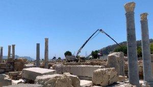 3 bin yıllık Knidos Antik Kenti'nde yapılar yeniden yükseliyor
