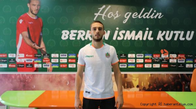 Alanyaspor, Berkan İsmail Kutlu ile 4 yıllık anlaştı