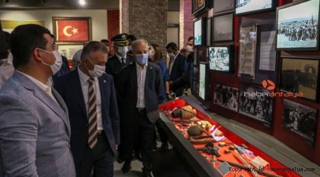 Anadolu Şehitler Müzesi Antalya'da açıldı