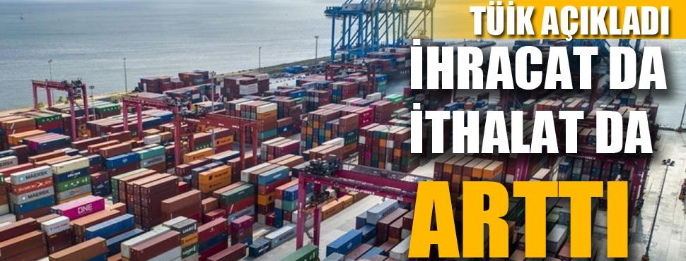 Antalya'da ihracat da ithalat da arttı !
