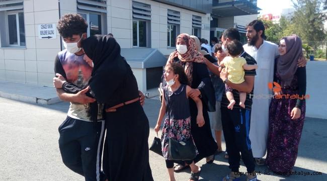 Antalya'da Suriyeli işçinin feci ölümü