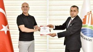 Antalya OSB' TSE Covid-19 güvenli hizmet belgesi alan ilk kuruluş oldu