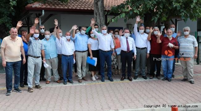 Antalya'ya yeni bir semt, Kırcami'de tarihi anlar