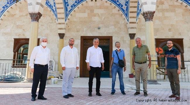 Başkan Uysal, Burdurlu Hasan Dikici Camii'nde