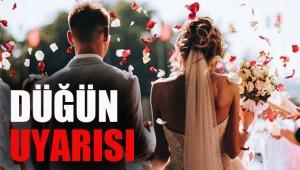 Bilim Kurulu üyelerinden düğün uyarısı