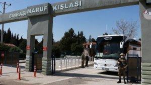 Burdur'da karantinaya alınan asker sayısı 670'e yükseldi