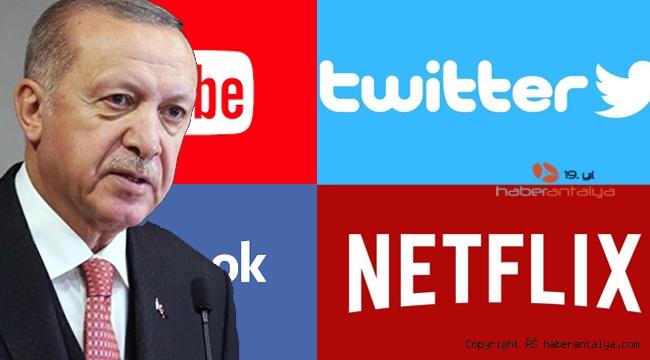Cumhurbaşkanı Erdoğan: Niçin YouTube, Twitter, Netflix gibi sosyal medyalara karşı olduğumuzu anlıyor musunuz?